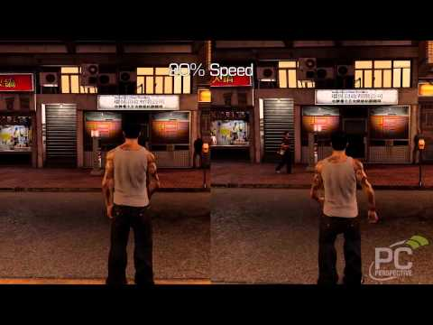 Sleeping Dogs - 60 FPS vs Vsync - Frame Rating