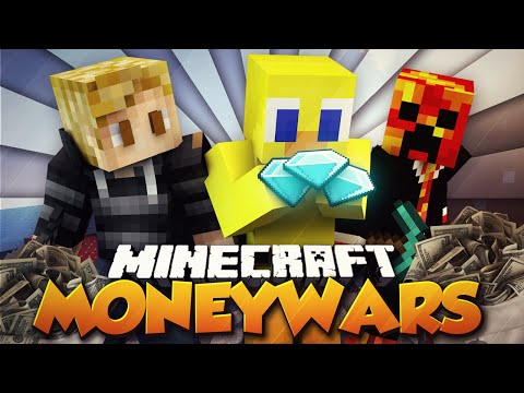 "Minecraft MONEY WARS ""BEST TEAM EVER!"" #26 w/ PrestonPlayz, Kenny & Choco"
