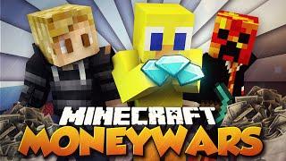 """Minecraft MONEY WARS """"BEST TEAM EVER!"""" #26 w/ PrestonPlayz, Kenny & Choco"""