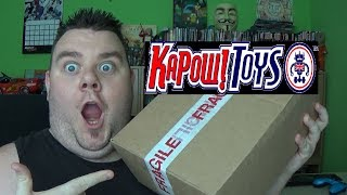 Kapow Toys Review - Marvel Legends Action Figure Toy Haul Unboxing