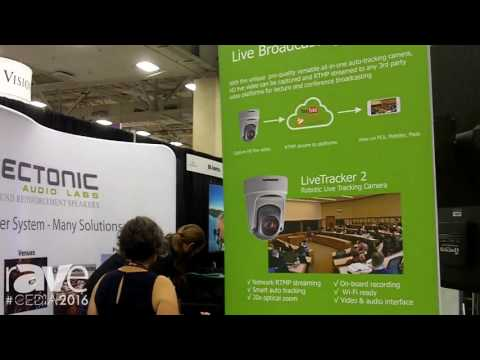 CEDIA 2016: Hinovision Intros Flagship LiveTracker 2 Robotic Camera
