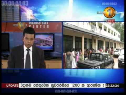 10PM News 1st Prime time Sirasa TV 30th october 2014