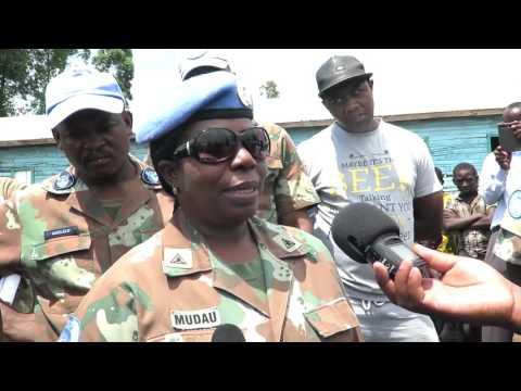 ONU HEBDO#8: L 'assistance des contingents Sud-Africain de la Monusco en faveur d'un orphelinat