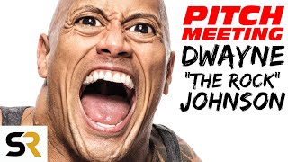 "Dwayne ""The Rock"" Johnson Actor Pitch Meeting"
