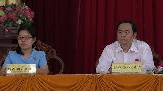 Đồng chí Trần Thanh Mẫn tiếp xúc cử tri quận Thốt Nốt, TP Cần Thơ