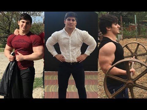 16 летний ЧЕЧЕНСКИЙ ХАЛК  - АСХАБ ТАМАЕВ - МОЩЬ и СКОРОСТЬ, Огромный Школьник из Чечни. Мотивация
