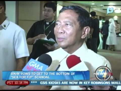 Newslife: Binay Vows To Get To The Bottom Of 'sex For Fly' Scandal video