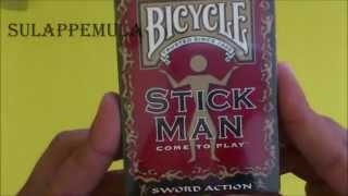 Bicycle Stickman Deck Review