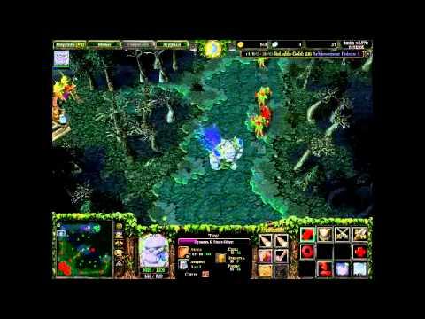 №1 Warcraft III прокачка героев TIny(Горный великан)