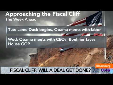 Clock Ticks on Fiscal Cliff as Congress Returns