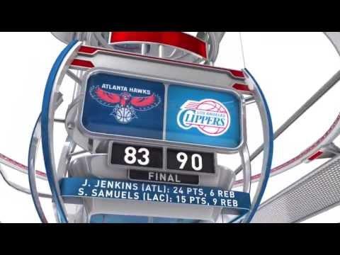 2013 NBA Summer League Atlanta Hawks VS Los Angeles Clippers