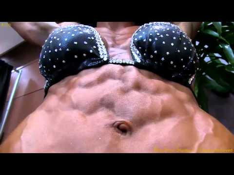 Brie Eubanks very Vascular Physique Competitor turns it on at the Emerald Cup 2012