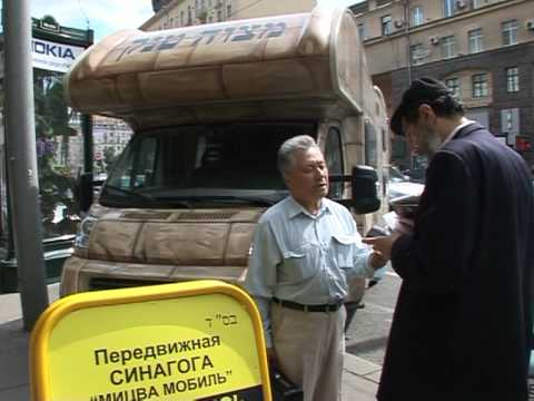 For Russian Jews, it's religion on wheels