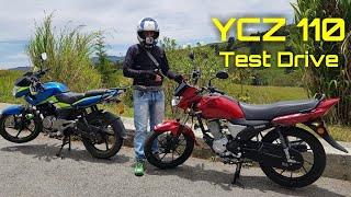 Nueva Yamaha YCZ 110 Test Drive, prueba a fondo --- Nova Yamaha YCZ 110 Test Drive, teste aprofundad