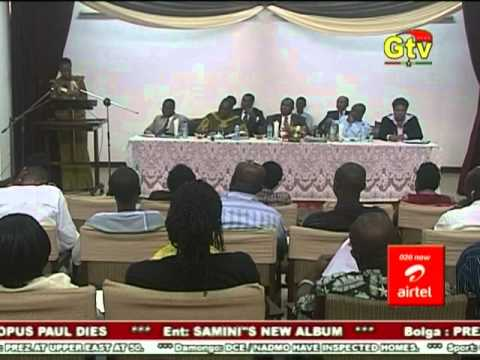 HGSF Ghana news report on Government engagement
