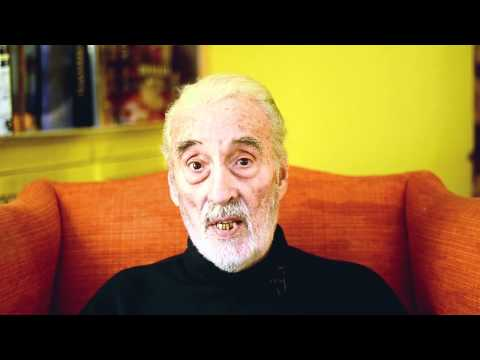 Christopher Lee 2011 Christmas Message. Part 2