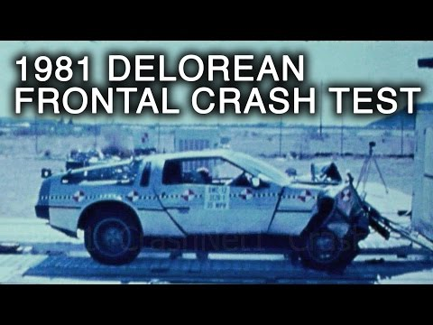 DeLorean DMC-12 | 1981 | Frontal Crash Test | NHTSA | CrashNet1