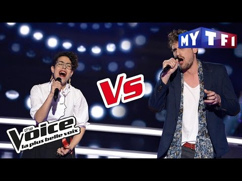 Nathalia VS Valentin Stuff - « Je te pardonne » (Maître Gims ft. Sia) | The Voice France 2017...