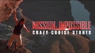 How Tom Cruise's Mission Impossible Stunts Got Crazier and Crazier