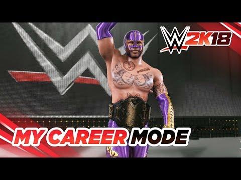 WWE 2K18 - My Career: #05 - Realizando as Side Quests!