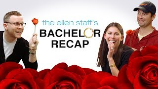 The Ellen Staff's 'Bachelor' Recap: Drama, Trauma... and Steak