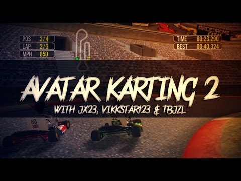 Avatar Karting 2 (with JX23, Vikkstar123 & TBJZL)