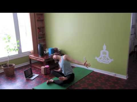 Forrest Yoga - Level 2/3 - Hip Openers And Inversions - 60 Minute Class