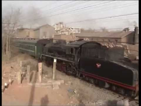 Baiyin steam passenger turns 2009..flv