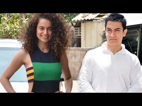 Is Kangana Ranaut Trying To Be Like Aamir Khan?