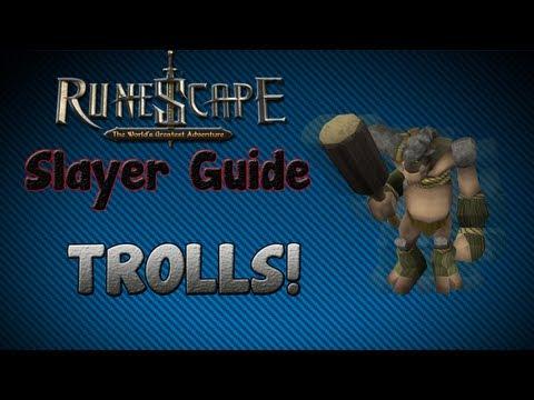 """Runescape 07″ – Slayer guide #20: Trolls!"