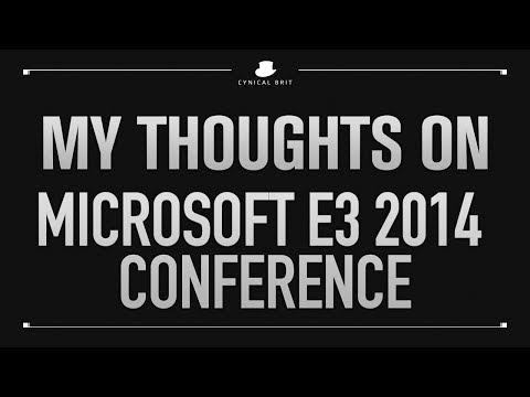 My Thoughts on the Microsoft E3 2014 Conference
