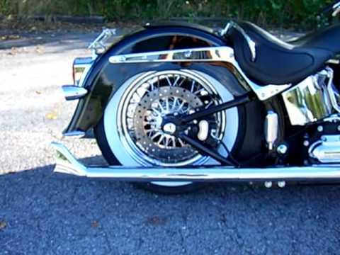 Shotgun air shock 09' Harley Davidson Deluxe FLSTN Softail