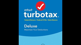 TurboTax Deluxe 2016 Tax Software Federal & State + Fed Efile PC download