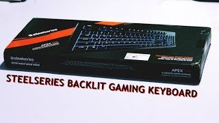 Steelseries Apex 100 Gaming Keyboard review Ft. Logitech G413 Carbon mechanical Keyboard