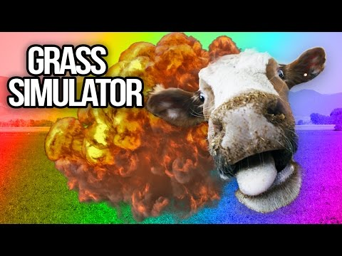 EXPLODING COWS | Grass Simulator