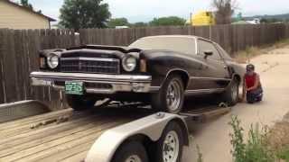 1975 Chevrolet Monte Carlo with 3600 original miles