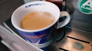 Morning with Aeroflot. How it made