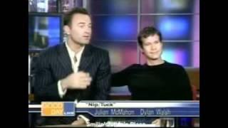 Julian McMahon & Dylan Walsh - Good Day Live (10/21/2003)