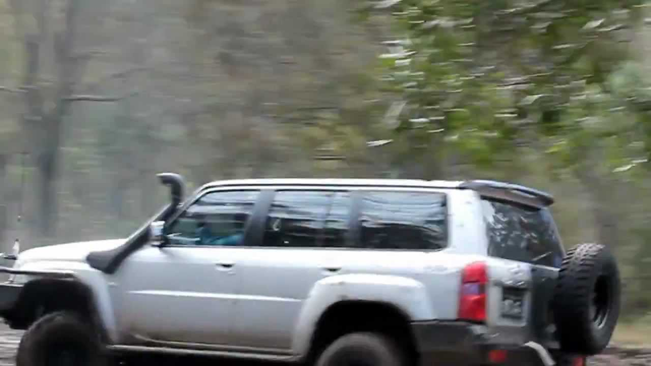 Nissan Gu Iv Patrol 4 2 3 Quot Exhaust Mud Play Youtube