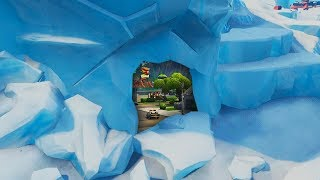 """Fortnite Polar Peak Event """"Fortnite Greasy Grove Melting"""" (Fortnite Battle Royale Live Event)"""