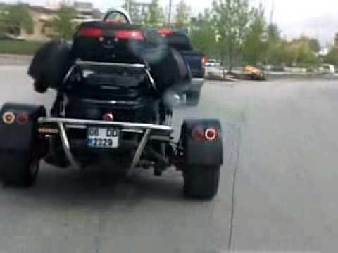 custom Trike trip