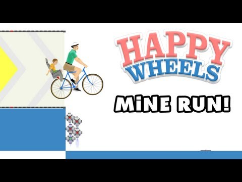 Happy Wheels - Mine Run