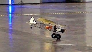 INDOOR FLIGHT RC SAVAGE BOBBER LIGHTWEIGHT SCALE MODEL JET / Modll-Hobby-Spiel Leipzig 2016