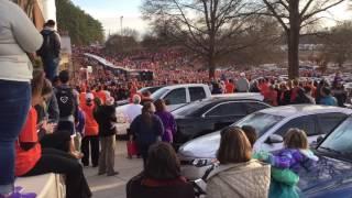 Clemson welcome home rally