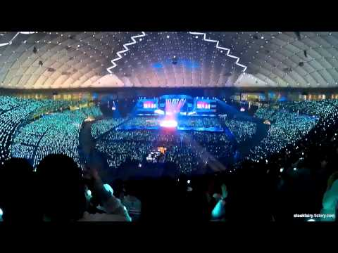 150314 SHINee Tokyo Dome concert 1. 'Everybody' (wide angle) ?????? ??????? ?????????? ??이드앵글