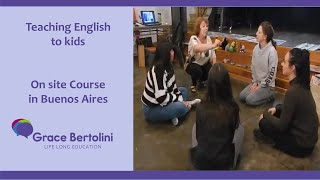 Teaching English to Kids On site Course in Buenos Aires