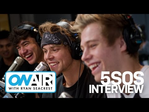 5SOS's First In Studio Interview! | On Air with Ryan Seacrest
