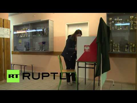 Poland: Warsaw voters head to the polls for presidential election