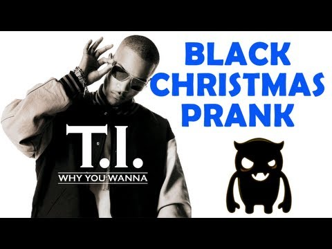 Black Christmas Prank (Hobbit Prank Blooper) - Ownage Pranks