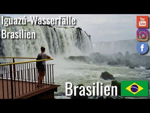 Ausflug zu den Iguazú-Wasserfälle in Brasilien - Weltreise VLOG #104 4K